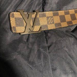 Louis Vuitton brown belt